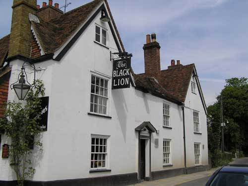Picture 1. The Black Lion, Lynsted, Kent