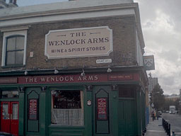 Picture 1. The Wenlock Arms, Hoxton, Central London