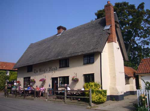 Picture 1. The King's Head (The Low House), Laxfield, Suffolk
