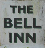 The pub sign. The Bell Inn, Aldworth, Berkshire