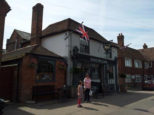 Picture 1. The Duke William, Ickham, Kent
