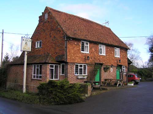 Picture 1. The Rock, Chiddingstone Hoath, Kent