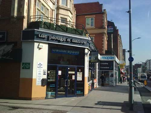 Picture 1. The Plough & Harrow, Hammersmith, Greater London