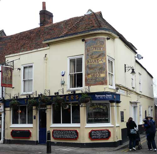 Picture 1. The Cricketers, Canterbury, Kent