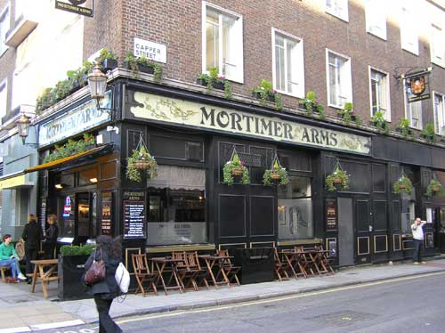Picture 1. Fitzrovia Belle (formerly Mortimer Arms), Bloomsbury, Central London