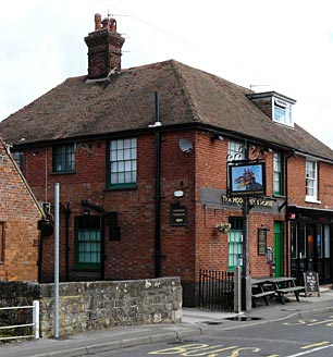 Picture 1. The Little Black Dog (formerly The Hoodener's Horse), Great Chart, Kent