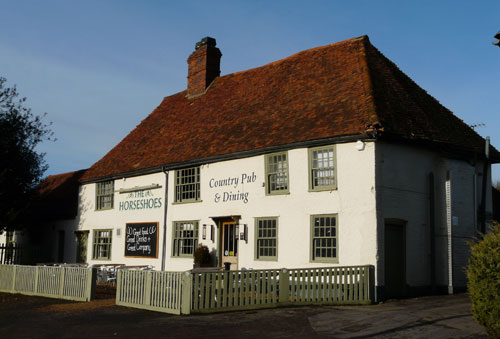Picture 1. The Horseshoes, East Farleigh, Kent