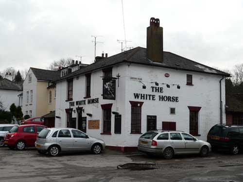 Picture 1. The White Horse, Willesborough, Kent