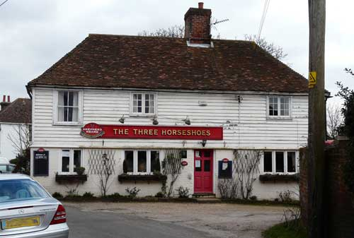 Picture 1. The Three Horseshoes, Hernhill, Kent