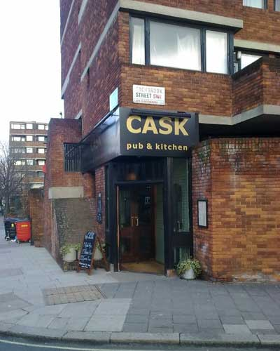 Picture 1. Cask Pub & Kitchen, Pimlico, Central London