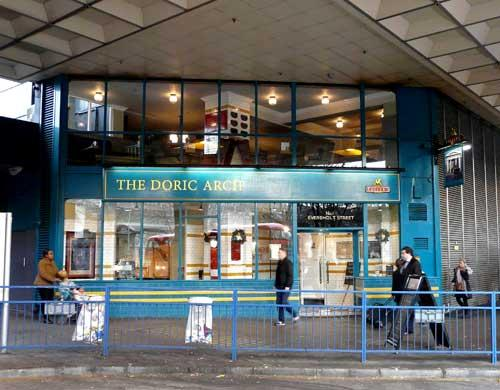 Picture 1. The Doric Arch, Euston, Central London