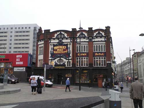 Picture 1. Crown Hotel, Liverpool, Merseyside