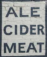 The pub sign. Southampton Arms, Gospel Oak, Greater London