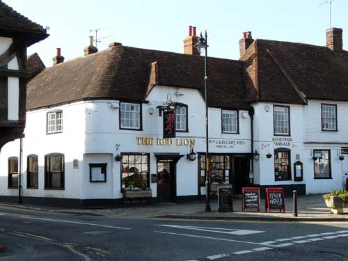 Picture 1. The Red Lion, Lenham, Kent