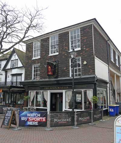 Picture 1. The John Wallis (formerly Man of Kent), Ashford, Kent