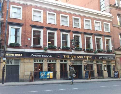 Picture 1. The Ape & Apple, Manchester, Greater Manchester