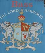 The pub sign. Lord Harrowby, Grantham, Lincolnshire