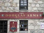 The pub sign. The Douglas Arms, Banchory, Aberdeenshire