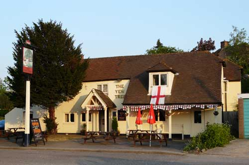 Picture 1. The Yew Tree, Sandling, Kent