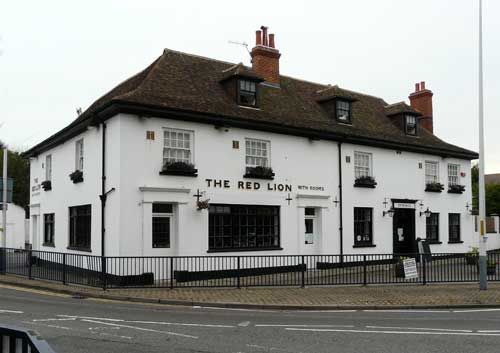 Picture 1. The Red Lion, Hythe, Kent