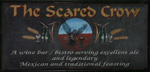 The pub sign. Scared Crow, West Malling, Kent