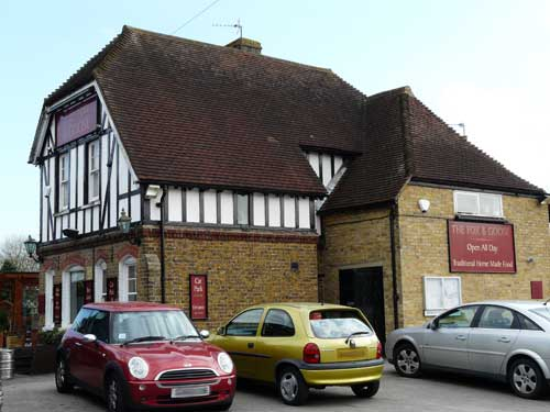 Picture 1. The Fox & Goose, Weavering Street, Kent