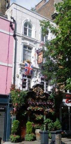 Picture 1. The Cross Keys, Covent Garden, Central London