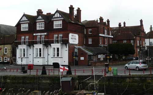 Picture 1. Bell Hotel, Sandwich, Kent