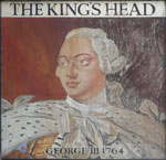 The pub sign. The Kings Head, Deal, Kent