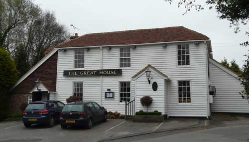 Picture 1. The Great House, Hawkhurst, Kent