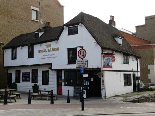 Picture 1. The Royal Albion, Maidstone, Kent