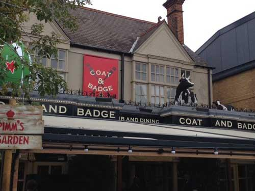 Picture 1. Coat & Badge, Putney, Greater London
