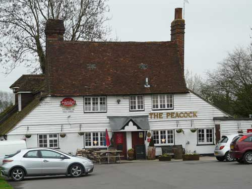 Picture 1. The Peacock, Goudhurst, Kent