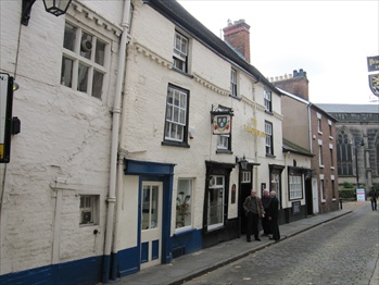 Picture 1. The Loggerheads, Shrewsbury, Shropshire
