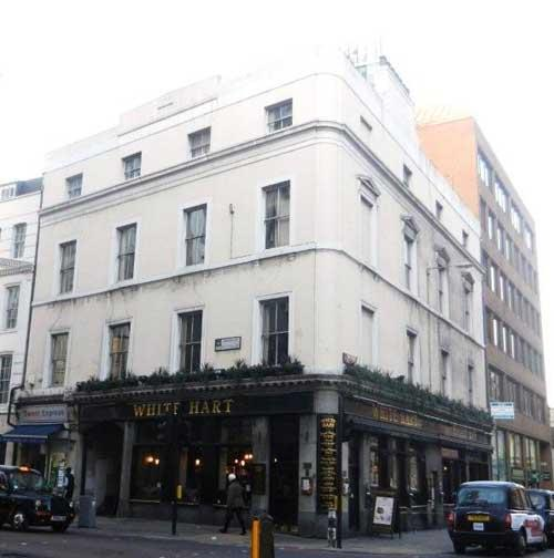 Picture 1. White Hart, City, Central London