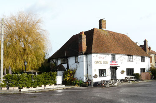 Picture 1. The Cock Inn, Boughton Monchelsea, Kent