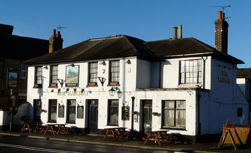 Picture 1. The Railway, Wateringbury, Kent