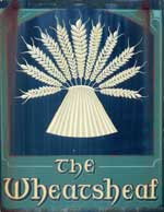 The pub sign. Wheatsheaf, West Malling, Kent