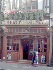 Picture 1. Pillars of Hercules, Soho, Central London