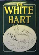 The pub sign. The White Hart, Whitechapel, Greater London
