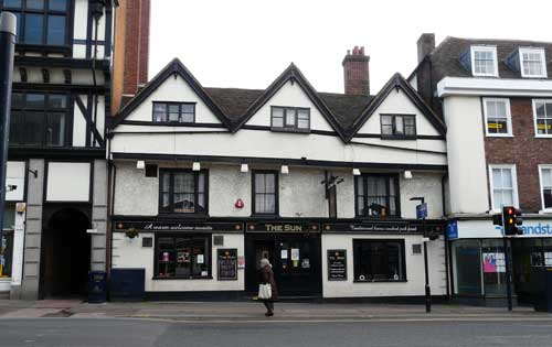 The Stag Maidstone >> Pubsandbeer Co Uk The Stag Formerly The Sun Maidstone Kent