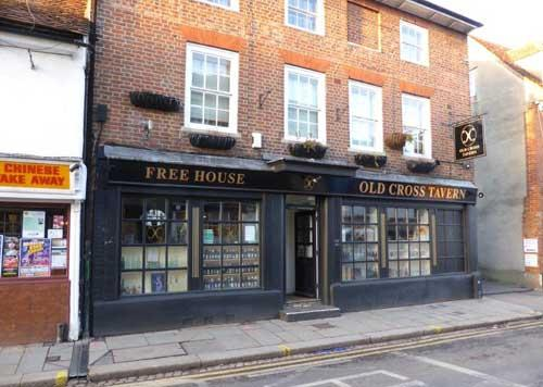 Picture 1. Old Cross Tavern, Hertford, Hertfordshire