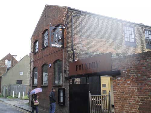 Picture 1. The Foundry Brew Pub, Canterbury, Kent