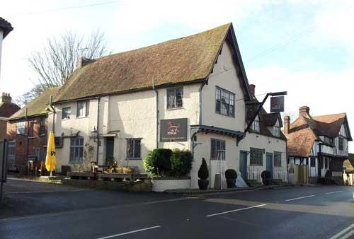 Picture 1. The Dog Inn, Wingham, Kent