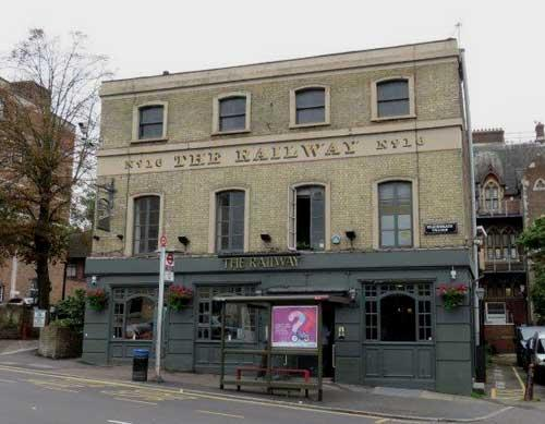 Picture 1. The Railway, Blackheath, Greater London