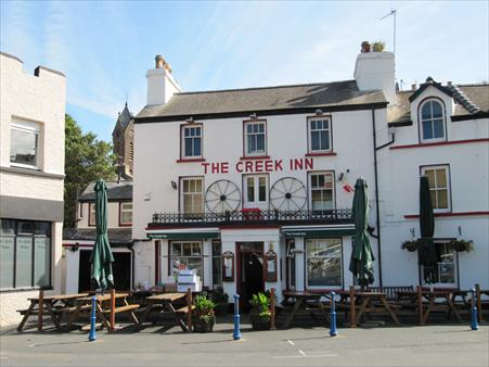 Picture 1. The Creek Inn, Peel, Isle of Man
