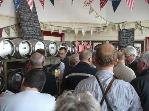 Picture 1. Leas Lift Beer Festival, Folkestone, Kent