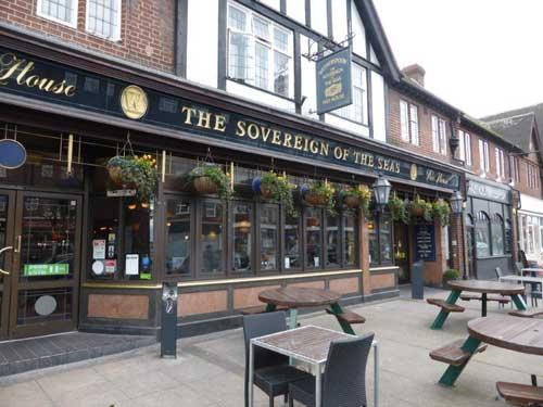 Picture 1. The Sovereign of the Seas, Petts Wood, Greater London