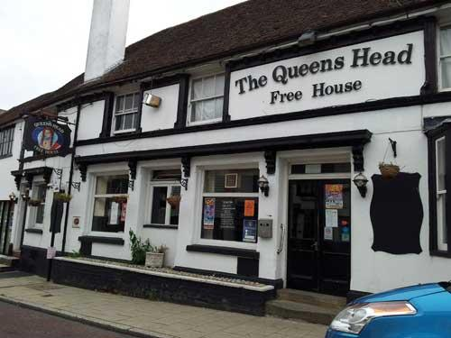 Picture 1. The Queens Head, Rye, East Sussex