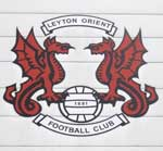 The pub sign. Leyton Orient Supporters Club, Leyton, Greater London